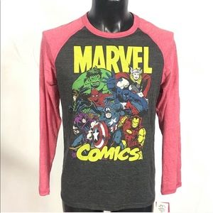 🔥Marvel Comics Shirt Size Small New with Tags